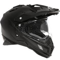 THH TX-27 Dual Sport Helmet - Solid Matt Black