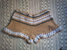 crochet short cotton 100%