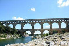 Pont du Gard Bridge, Gard - França