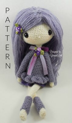 Lilly 13 Amigurumi Doll Crochet Pattern PDF by CarmenRent on Etsy