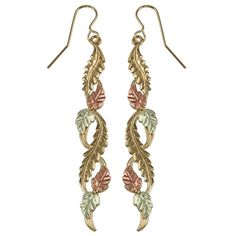 black hills gold earrings