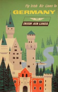 Germany with Irish Air Lines (Aer Lingus)