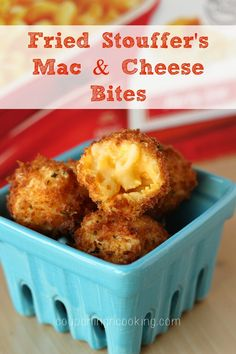 Fried Mac & Cheese Bites | Couponing & Cooking