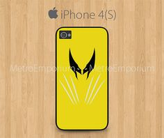 Wolverine iPhone 4 iPhone 4S Case XMen The by MetroEmporium, $13.79