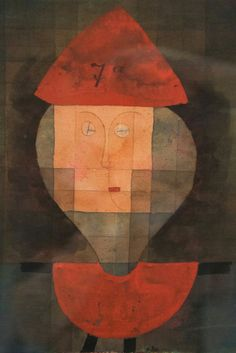 Paul Klee. Marionette 7a, 1923 (132). Ink, watercolour and gouache on paper.