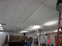 Fresh Cloth Ceiling Basement