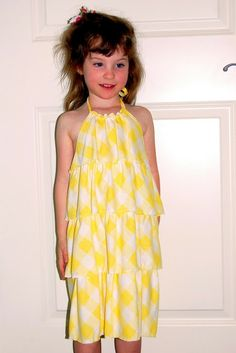 d34066dd42 Scattered Thoughts of a Crafty Mom: Knit halter dress for summer Sewing Kids  Clothes,