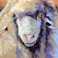watercolor demonstrations | Carol Santora, PSA: 15-Minute Sheep Painting Demonstration