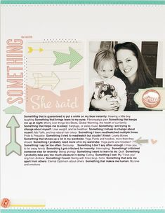 """Monday Challenge: Somethings   Laura Craigie for October Afternoon (post includes journaling prompts based on a """"Somethings"""" list)"""