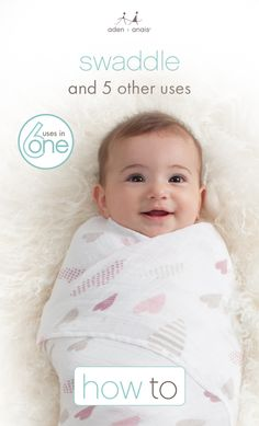 It's not *just* a swaddle. See how moms around the world make our essential cotton muslin swaddles their own!