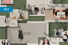 Elle Creative KeynoteElle has a Minimal professional, ultra-modern and unique design, where each slide is created with love and attention to detail. Elle is a multipurpose template that can be used for any type of presentation: business, portfolio, corp… Best Presentation Templates, Good Presentation, Keynote Design, Brush Font, Keynote Template, Free Design, Creative Design, Google