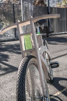 · fab_a_bike - arquimaña Wooden Bicycle, Wood Bike, Woodworking Projects Diy, Woodworking Plans, Bicycle Pedals, Japanese Woodworking, Cargo Bike, Bike Design, Go Kart