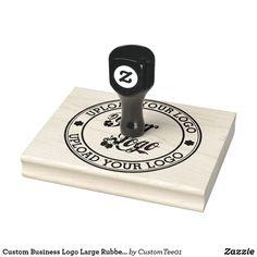 Custom Business Logo Large Rubber Stamp Custom Aprons, Custom Rubber Stamps, Wood Stamp, Foam Cushions, Wooden Handles, Business Logo, Custom Logos, Wood Art, Laser Engraving