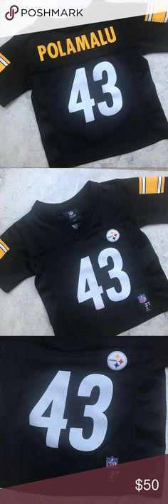 5c99f433ffd {Youth}Pittsburgh Steelers Troy Polamalu Jersey National Football League Pittsburgh  Steelers Troy Polamalu Football