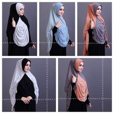 Berly Instant Hijab by Goest. ~One piece slip on style. ~Material: Jersey Lycra. | eBay!
