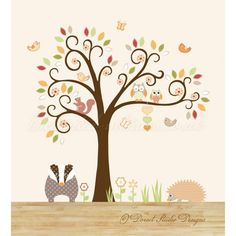 Such cute woodland stickers
