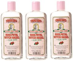 Thayer Witch Hazel Rose Petal Alcohol Free Toner with Aloe Vera 12 Ounces