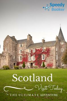 This award winning castle combines history and refinement, together with a Treehouse Suite. Edinburgh Festival, Fairytale Castle, Treehouse, Highlands, Fairy Tales, Scotland, Group, Adventure, Mansions
