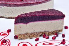 tort rawdia Raw Vegan Recipes, Cheesecake, Veggies, Desserts, Food, Sweets, Vegetable Recipes, Deserts, Cheese Cakes