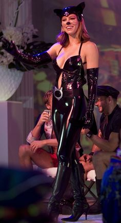 The Sexy Jessica Biel from Texas Chainsaw Massacre, Blade Trinity, Stealth, Next and Total Recall in her leather catsuit from I Now Pronounce You Chuck & Larry