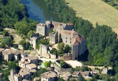 Bruniquel, Tarn-et-Garonne, France. One of the most beautiful villages of France. Le village
