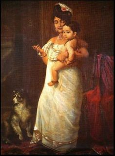 Lady with child