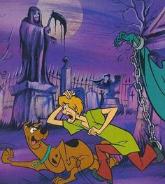 Scooby Doo and Shaggy: