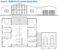 Customer Home Plan / Modified House Design | floorplan | Pinterest ...