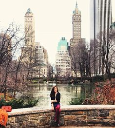 Fashionably warm in Central Park