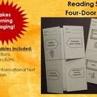 This Reading Strategies package has endless uses!  This package includes 8 Four-Door foldables-Making Predictions, Making Connections, Retelling, Summarizing Informational Text, Characterization, Sequence, Setting, and Frayer Model.