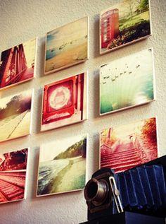 Print photos on wood - very cool look. Wood Printing and Photo Wood Prints   WoodSnap