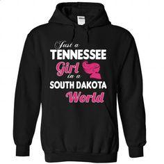 A TENNESSEE-SOUTH DAKOTA girl Pink04 - #denim shirt #sweater knitted. SIMILAR ITEMS => https://www.sunfrog.com/States/A-TENNESSEE-2DSOUTH-DAKOTA-girl-Pink04-Black-Hoodie.html?68278