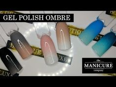 Gel Manicure At Home, Manicure Colors, Glitter Gradient Nails, Diy Nails Ombre, Ombre Gel Polish, Gel Powder Nails, Gel Nail Tutorial, How To Do Ombre, Baby Boomer