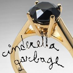 Cinderella garbage - handcrafted hard stone jewelry made from garbage
