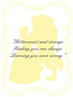 Beast Belle quote card