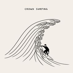 Crowd Surfing by Matt Blease