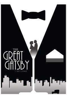 The Great Gatsby Movie Poster Housewares Wall Decor by Redpostbox