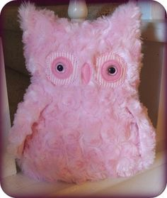 owl plush - I will make this if I have a niece :)