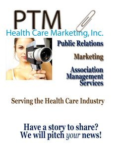 A full service health care PUBLIC RELATIONS and MARKETING firm located in New York featuring a team of PR experts who are results oriented. Your PR and marketing needs are number one on our list. Our goal is to stay focused on your project.    PTM Health Care Marketing's secret to good PR is understanding how, why, when and where to place your news. It is about building relationships with the media + promoting your agenda.