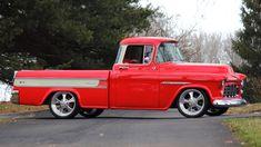57 Chevy Trucks, Custom Pickup Trucks, Lowrider Trucks, Ford Pickup Trucks, Classic Chevy Trucks, Chevy Pickups, Classic Cars, Cool Trucks, Small Trucks
