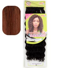 "Mambo Open Loop Deep Twist Braid 12"" - Color FS1B/350 - Synthetic Braiding"