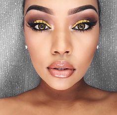 Love makeup, gorgeous makeup, makeup on fleek, flawless makeup, pretty make Makeup On Fleek, Flawless Makeup, Gorgeous Makeup, Pretty Makeup, Love Makeup, Makeup Inspo, Beauty Makeup, Dress Makeup, Makeup Kit