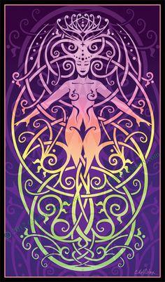"Gypsy Mystery: Art Spotlight: ""Shakti: Fleur-des-Lis"""