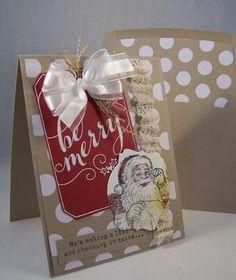 Stampin Up Santa's List