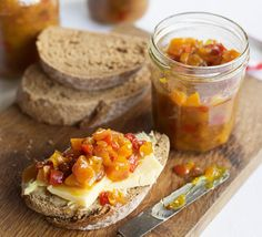 This colourful, sweet and spicy chutney makes a delicious addition to burgers, cheese boards, ham sandwiches or curries
