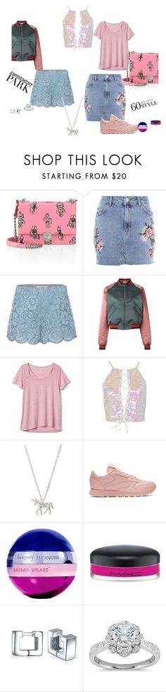 """Jace"" by chelsofly on Polyvore featuring Prada, Topshop, Valentino, Tomas Maier, Gap, Boohoo, Estella Bartlett, Reebok, Britney Spears and MAC Cosmetics"