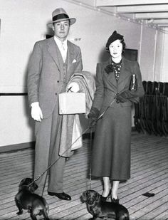 "In 1927, Millicent Rogers married Arturo Peralta-Ramos, ""a wealthy Argentine."" The couple had two children together, Paul Jaime & Arturo Henry Peralta-Ramos Jr. Approving of the marriage, Henry Huddleston Rogers II gave the couple a $500,000 trust fund, with the provision that Peralta-Ramos ""lay no future claim to the Rogers fortune, estimated at $40,000,000."" Peralta-Ramos filed for divorce in 1935, with both parties citing ""extreme cruelty"". photo/©Bettmann/Corbis"
