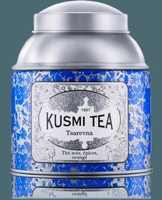 Thé Kusmi Tea : vente en ligne de mélanges de thé de qualité : thé vert, the noir