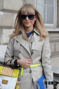 Bright belt your trench.