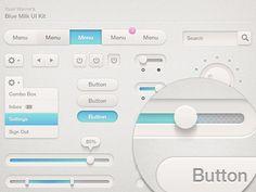 Ryan Warner's very cool UI Kit http://dribbble.com/shots/588694-Blue-Milk-UI-Kit-Updated#